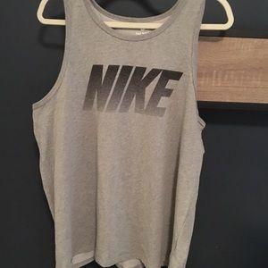 Nike men's tank vintage fade look XL